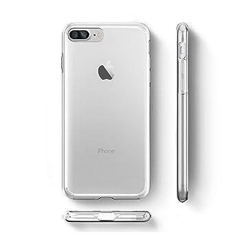 Funda iPhone 8 Plus / iPhone 7 Plus , LJSM Clear ...