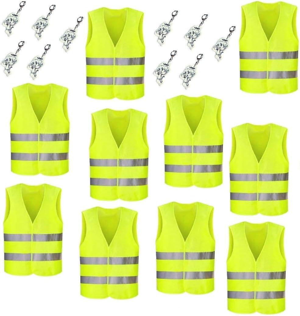 hohe Sicherheit umlaufend reflektierend Warnweste f/ür Kinder mit Reflektor-Engel 1