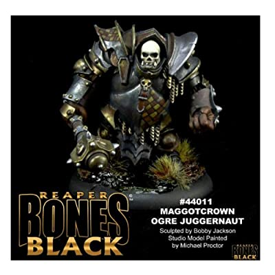 Bones Black: Maggotcrown Ogre Juggernaught: Toys & Games