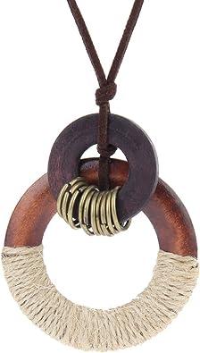 bijoux femme cercle et bois