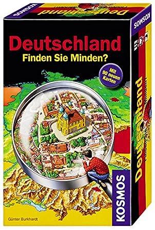 Mitbringspiel Deutschland Finden Sie Minden? Kosmos
