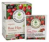 Traditional Medicinals Organic Tea Rose Hips with Hibiscus 16 tea bags (a) - 2PC - 3PC