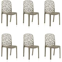 Shaf – Pack de 6 sillas de exterior/interior