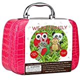OHYEYE Sewing Craft Kit, DIY Woodland Animals Craft Educational Sewing Kit for 7 to 12 Year Olds, Kids Sewing Projects, Sewing Toys Crafts Stuff Kit to learn hand crafting sewing and creative play