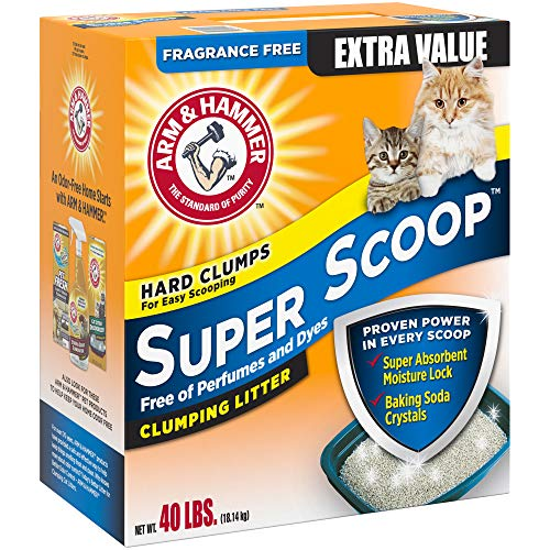 Buy scoopable cat litter multiple cats