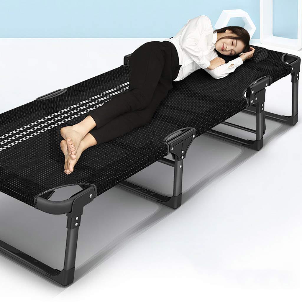 Lit de lit pliant simple de bureau de lit de lit Invisible de lit de lit daccompagnement portatif de camp Couleur : A.Plus pad