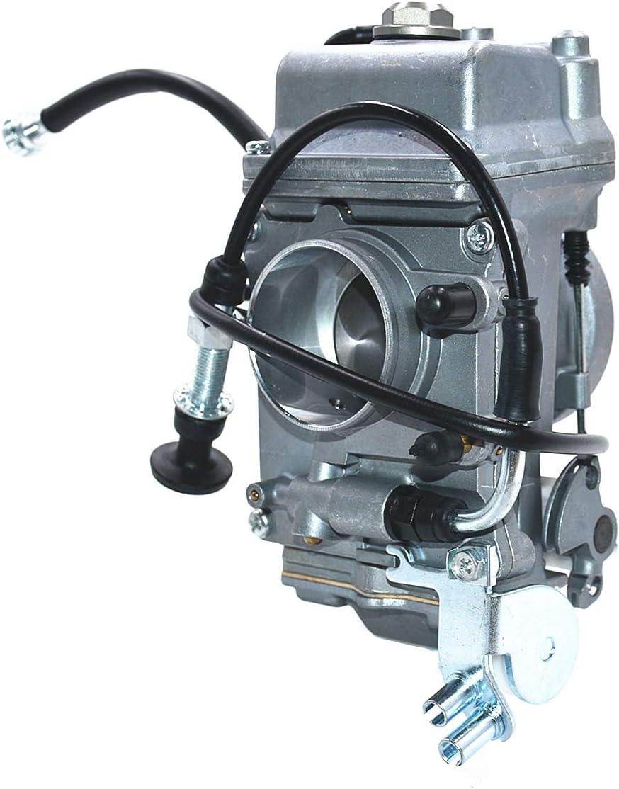 Carbman 45mm Caruretor for Mikuni HSR45 HSR 45mm Performance Pumper Carburetor for D HSR 45mm HD EVO TwinCam TM45 Carb