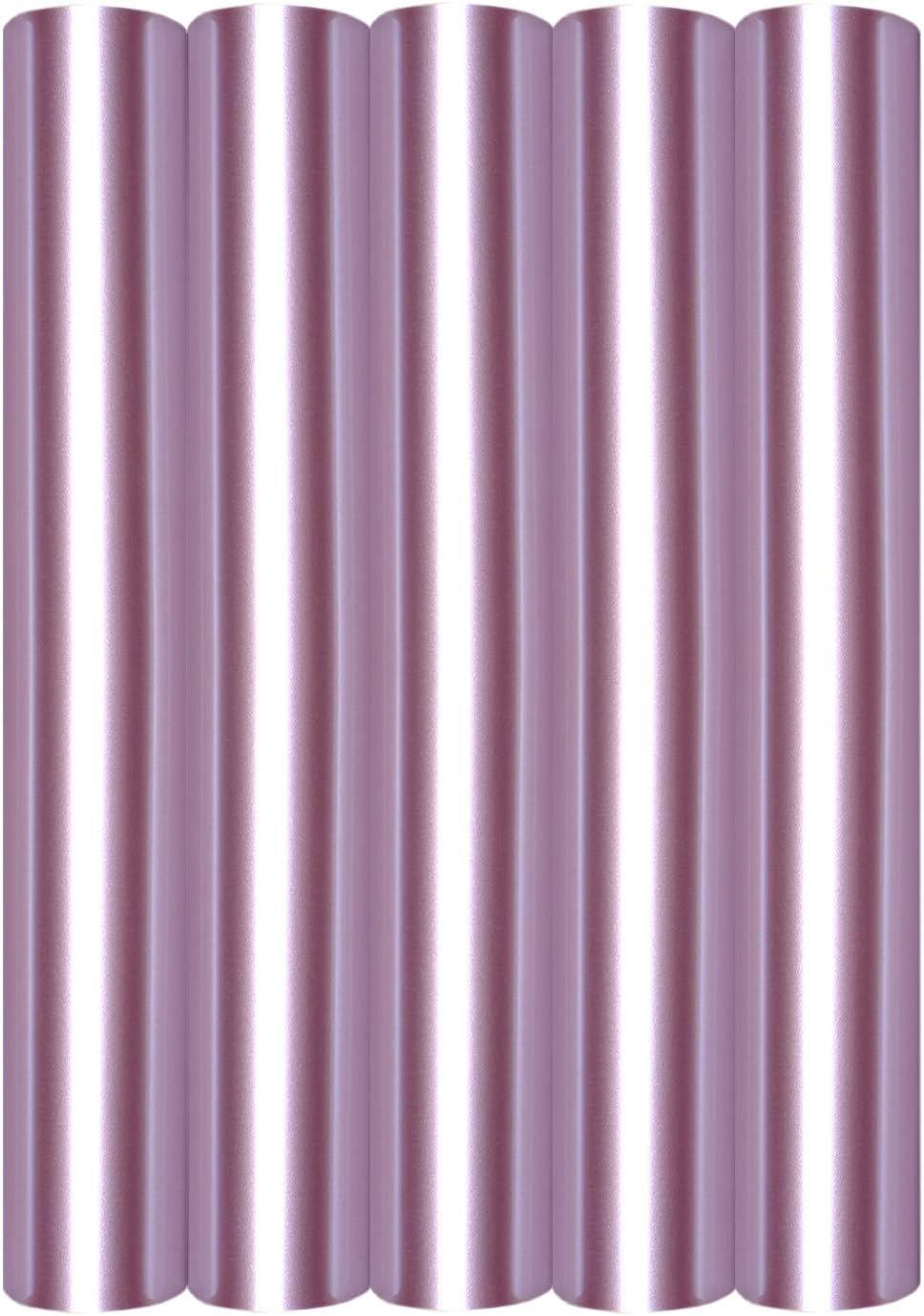 5 láminas de transferencia A4 para planchar sobre textiles, perfectas para plotter, P.S. Film:5er Set Rosé Gold: Amazon.es: Oficina y papelería