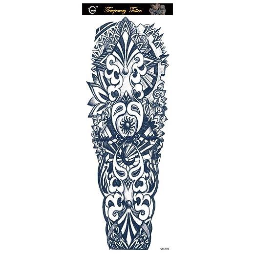 Handaxian Pegatinas de Tatuaje Brazo protección Ambiental ...
