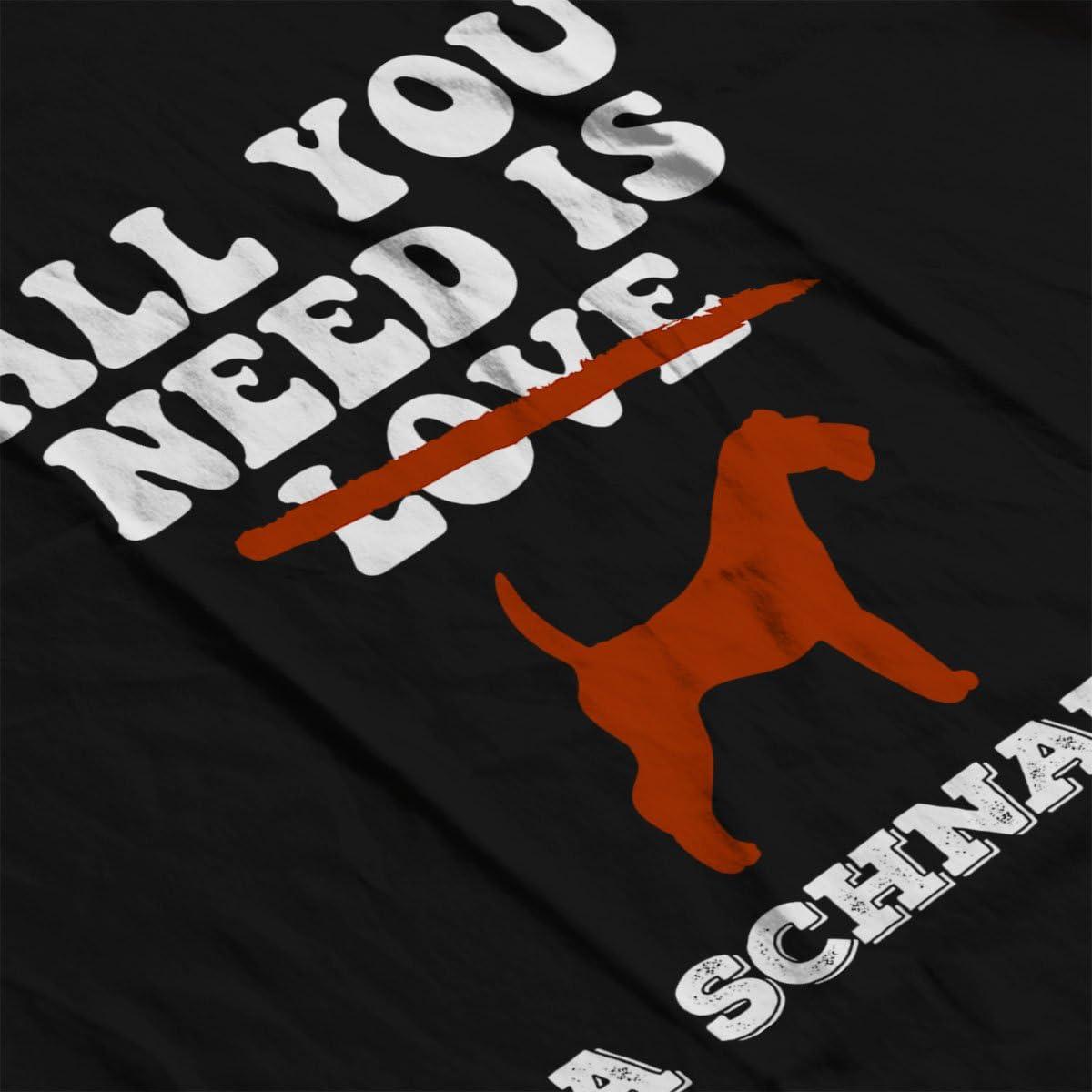 Coto7 All You Need is A Schnauzer Kids Sweatshirt