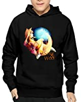 Qincent Men Casual Hoodies Sweatshirt Clothing/Spice And Wolf