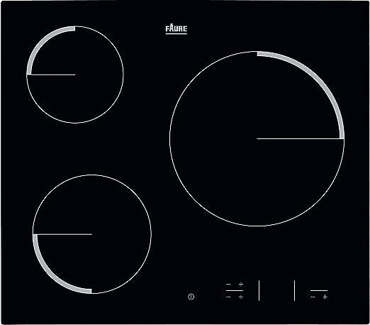 Faure fev 6333 FBA placa de cocina eléctrica: Amazon.es ...
