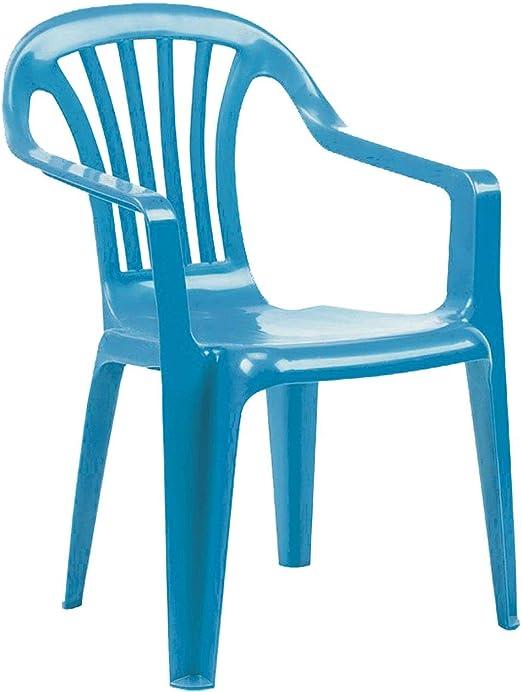 Ozalide - Sillón de jardín Infantil, Color Azul: Amazon.es: Jardín