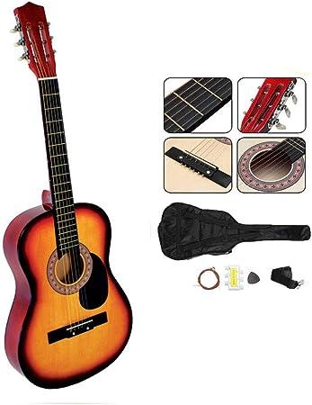 DYHQQ Guitarra de Madera de 38