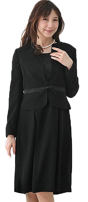 強要真夜中イチゴ(マーガレット)marguerite m016 ブラックフォーマル レディース アンサンブル 礼服