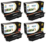 Catch Supplies 507A 4 Pack Premium Replacement Toner Cartridge Compatible with HP LaserJet 500 M551dn, MFP M575dn, Pro M570dn M575c Printers |CE400A Black, CE401A Cyan, CE402A Yellow, CE403A Magenta|