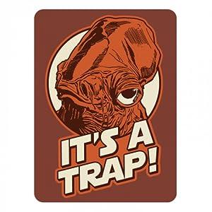 Pritties Accessories Genuine Star Wars Admiral Ackbar It's A Trap Refrigerator Magnet Gift Fridge