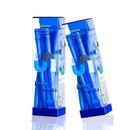 liebhome enzima Atic Drain Sticks/Drain Sticks abfuss limpiador Varillas/mantiene desagüe tubos limpio