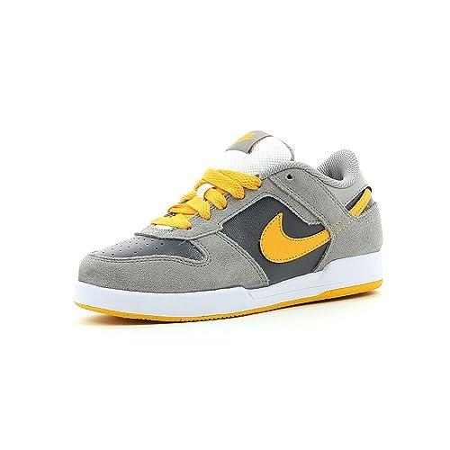 Nike Renzo 2 Sneaker - Zapatillas para niño, grey - yellow, 35 1/2: Amazon.es: Deportes y aire libre