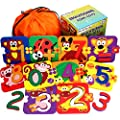 Learning Toys for Toddlers - Educational Toys for Kids - Educational Games - Preschool Toys for Girls- Bathtub Toys for Boys - Puzzle Games - Puzzle Set - Number Puzzle - Teaching Aids Baby Puzzle Fun