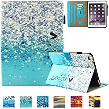 iPad Mini 3 Case, iPad Mini 2 Wallet Case, UUcovers Slim Lightweight Synthetic Leather Folio Stand Shockproof Case [Auto Sleep/Wake] Magnetic Closure Smart Cover for for iPad Mini 1/2/3, Air Bubbles
