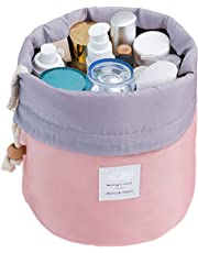 THEE Drawstring Travel Cosmetic Storage Bag Waterproof Women's Toiletry Bag Wash Bag Makeup Kit Organizer