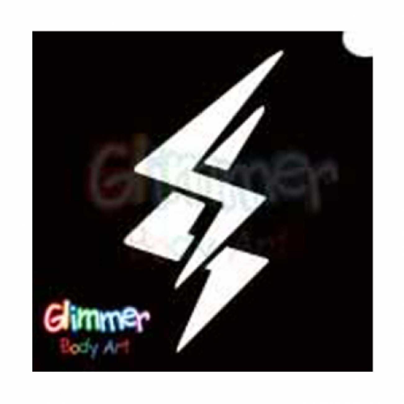 Glimmer Body Art plantilla del tatuaje del brillo: Amazon.es: Hogar