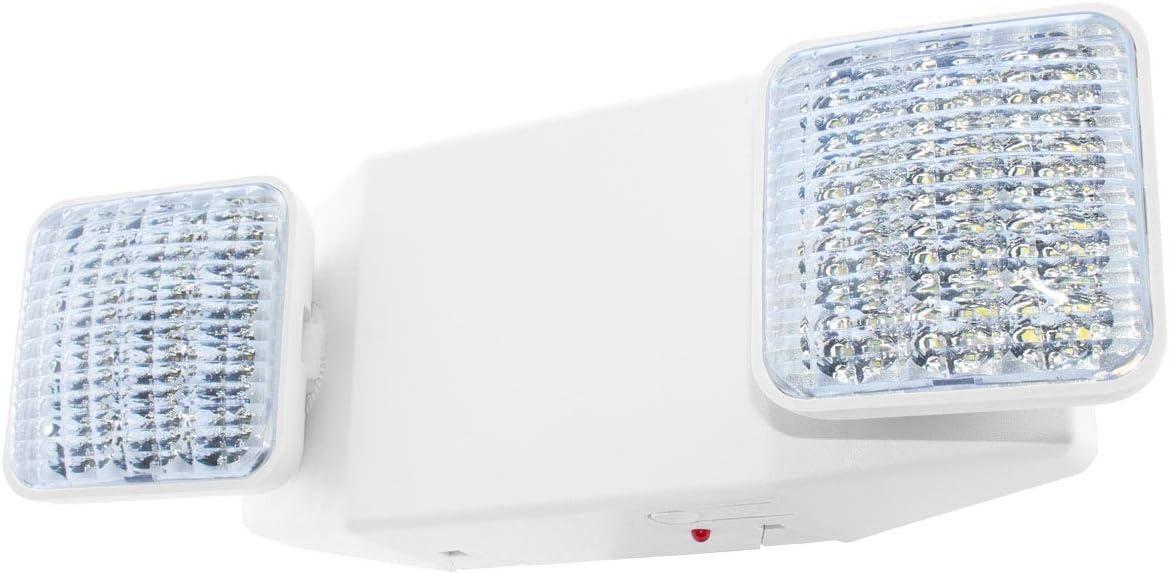UL Certified Battery Backup Hardwired Green LED Exit Sign LEDGBBJRx2 Emergency Fire Safety LFI Lights Modern Design UL924 2 Pack