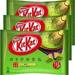 Japanese Kit Kat Maccha Green Tea Flavor 13 Mini Bar ( set of 3 )
