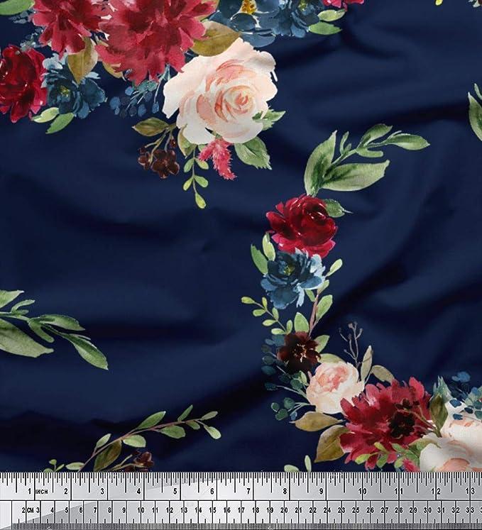 Soimoi Fabric OMG Text Decor Fabric Printed Meter TX-544J