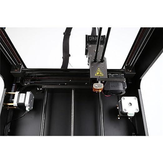 Impresoras 3D Creality CR-2020, Impresora 3D ensamblada, tamaño de impresión de 200 * 200 * 200 Pulgadas Soporte ABS TPU PLA filamento flexible marco de metal: Amazon.es: Industria, empresas y ciencia