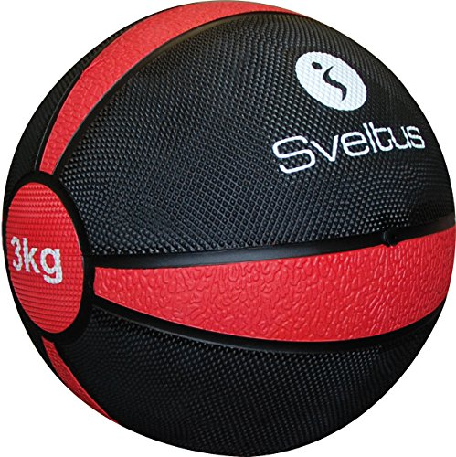 Sveltus Exercise Ball 3?kg?-?red by Sveltus by Sveltus