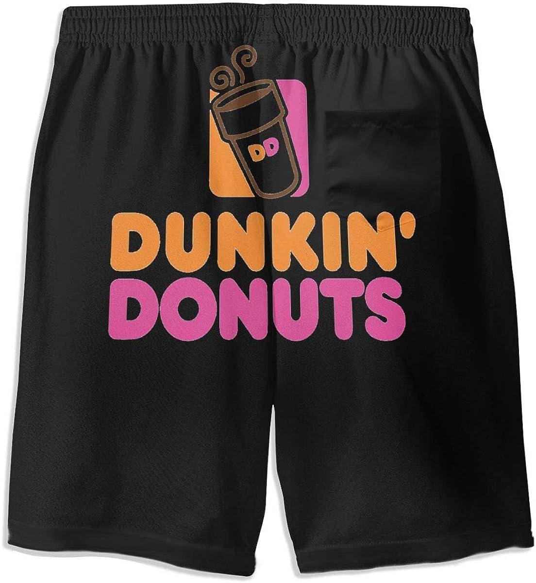 Dunkin Donuts Teenager Boys Beachwear Beach Shorts Pants Board Shorts