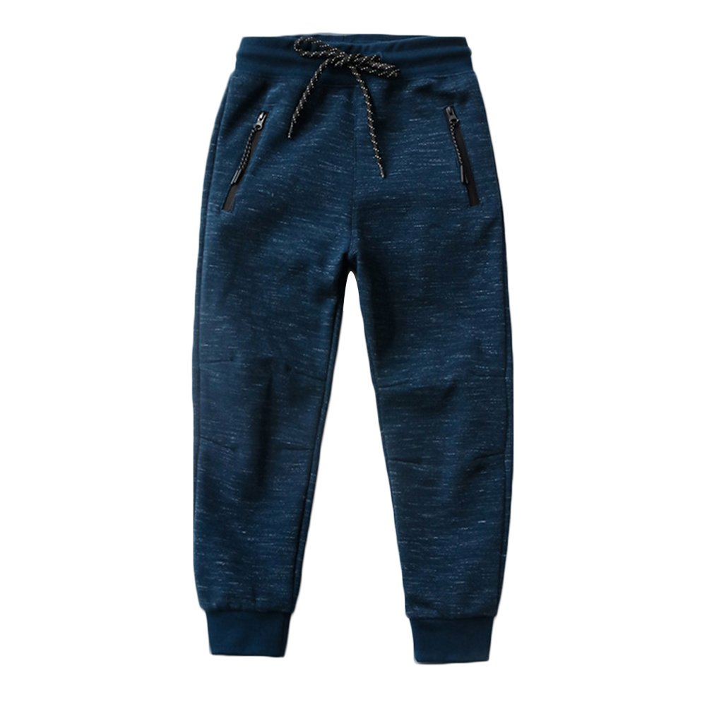 KISBINI Big Boys Cotton Sweatpants Sweats Athletic Pants Children