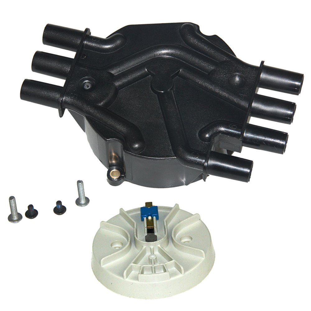 Bravex Ignition Distributor Cap fits Chevy EXPRESS 1500 GMC JIMMY Olds 1996-2007 4.3L V6 HKD