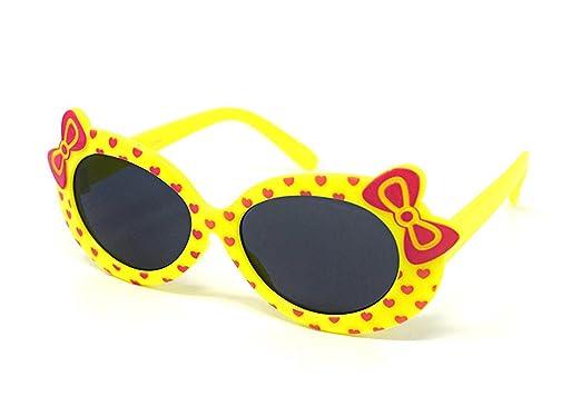 4 x amarillo color niños niños niñas elegante lindo ...