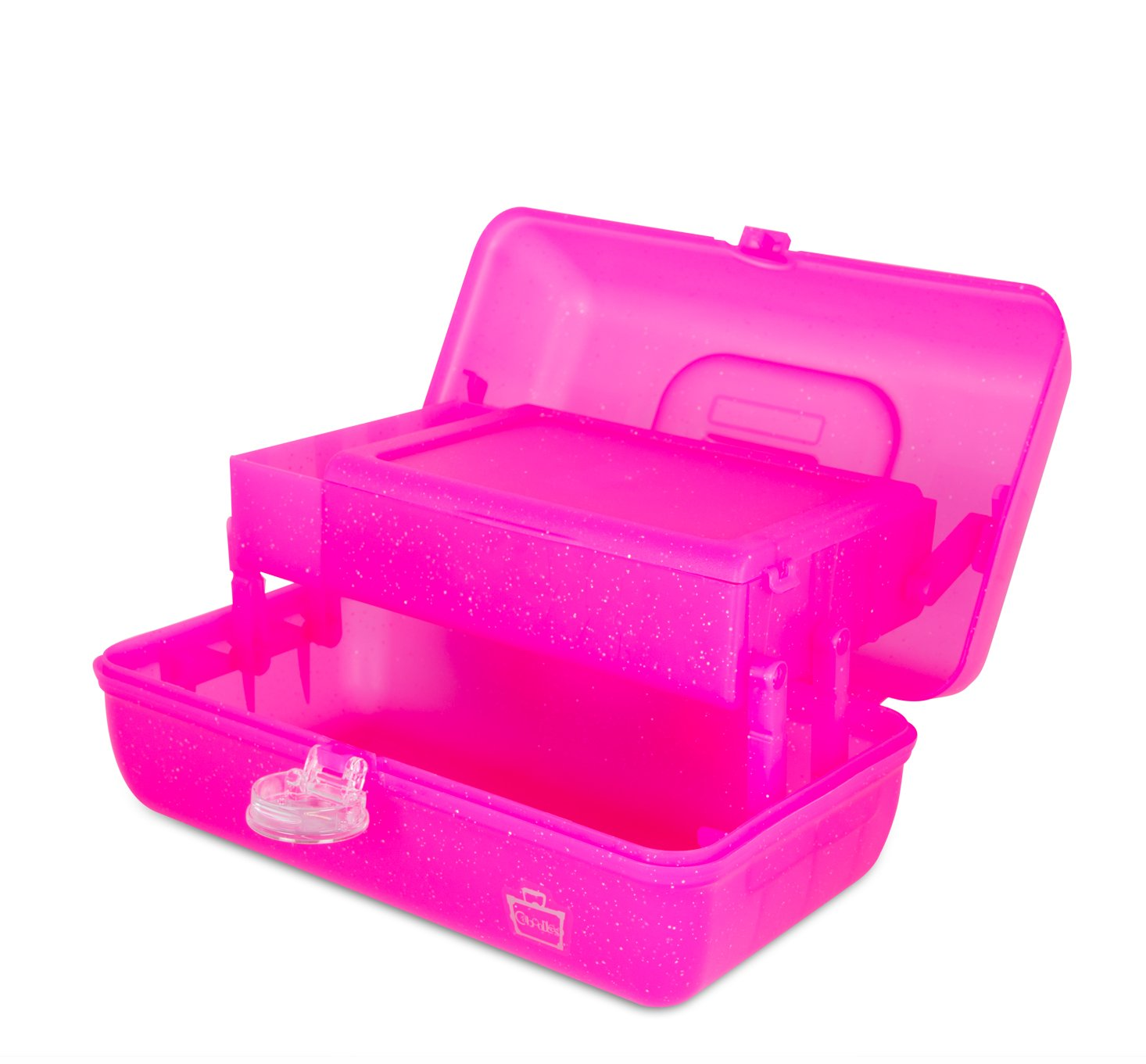 Caboodles On The Go Girl Classic Case, Pink Sparkle, 2.4 Pound by Caboodles (Image #3)