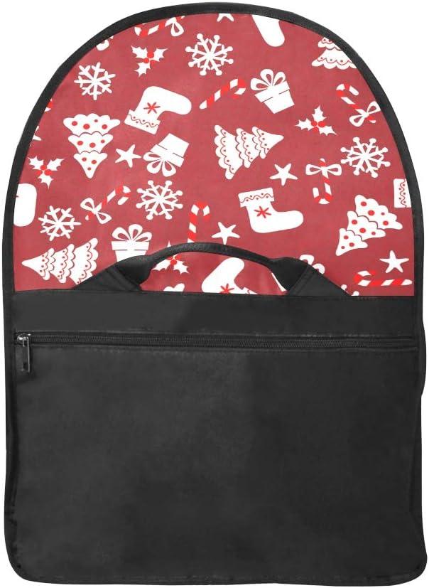 Womens Briefcase Laptop Chrismas Socks for Gifts Multi-Functional Zip Satchel Handbag Fit for 15 Inch Computer Notebook MacBook