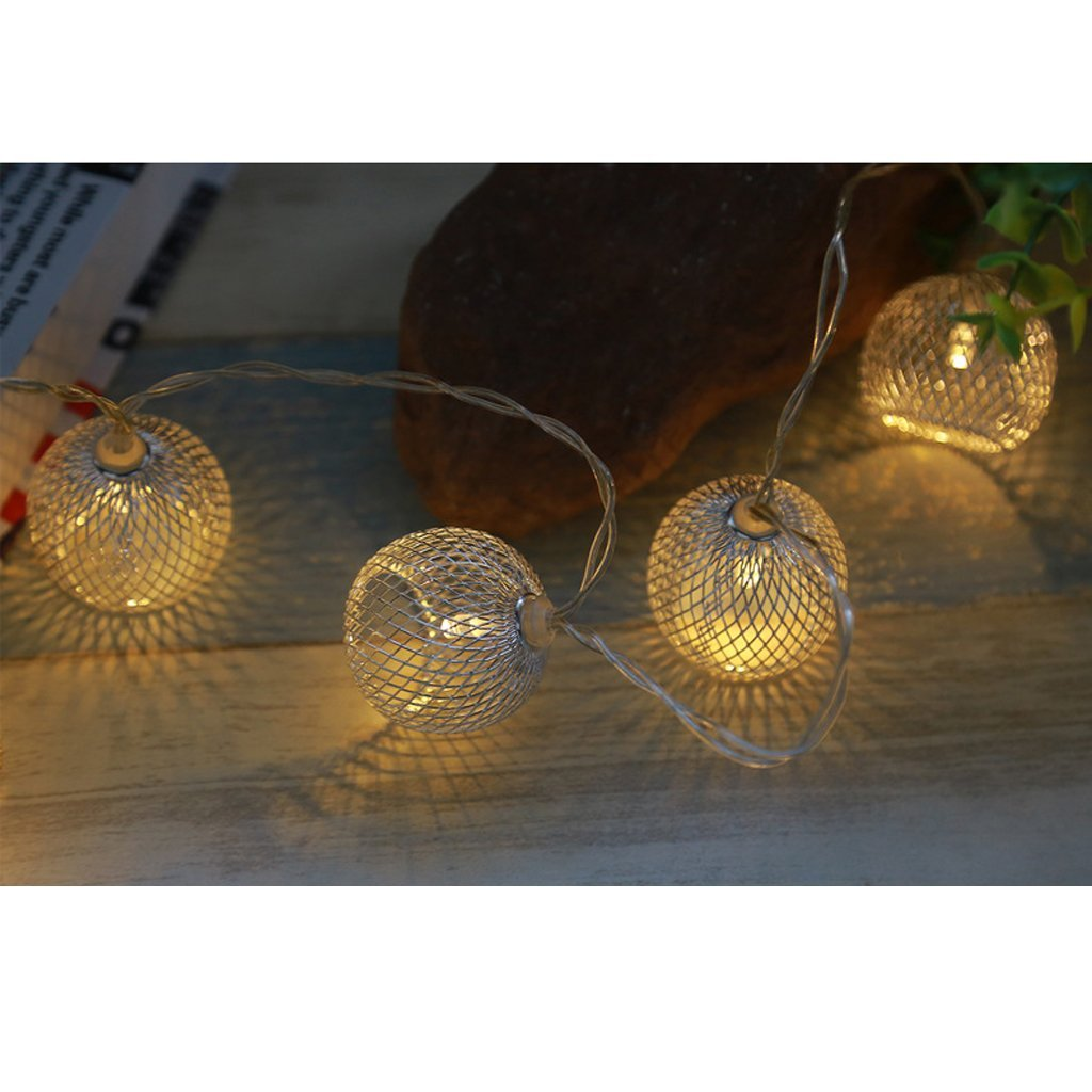 B Blesiya 5 Pcs Iron Light Cage Hanging Lamp Shade Light Pendant Cover No Wire