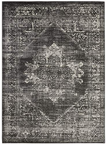 (5' x 7' Area Rug) Diagona Designs Contemporary Traditional Oriental Medallion Design Area Rug, 63