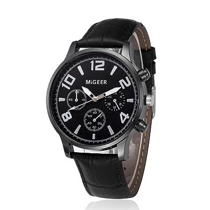 Relojes hombre Reloj de moda Reloj deportivo Reloj de pulsera de cuarzo de aleación analógica de
