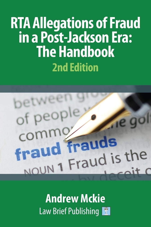 RTA Allegations of Fraud in a Post-Jackson Era: The Handbook PDF