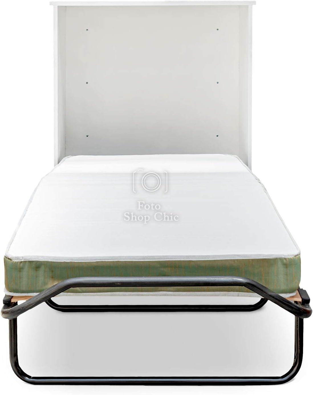 Mueble Cama ahorraespacio con somier y colchón de Estilo ...