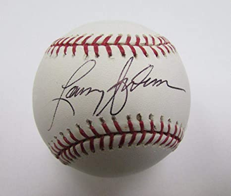 Larry Anderson Phillies Signed Autographed OML Baseball 139763 - NFL  Autographed Miscellaneous Items 8b08dc84f