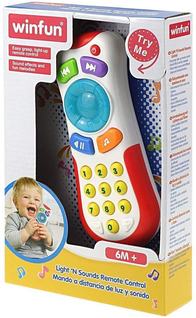 winfun 7300723 - Mando a Distancia con Luces y Sonido para Bebes ...