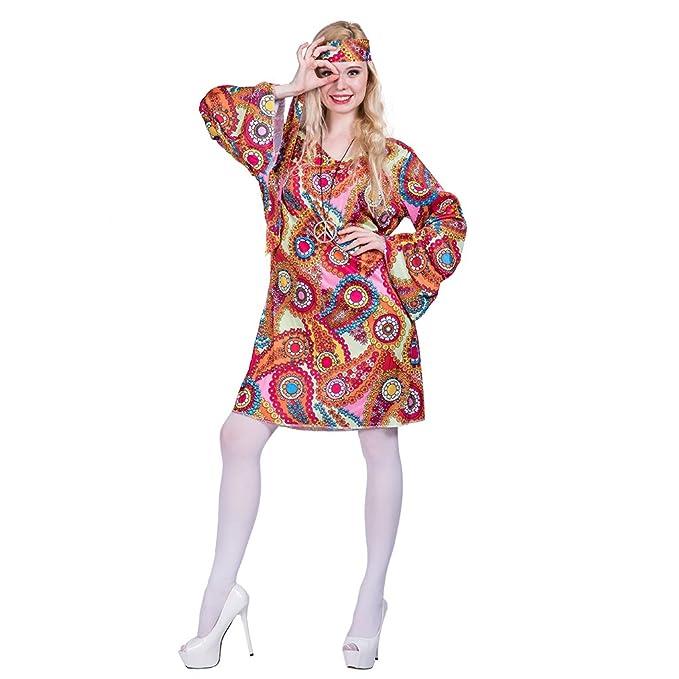 EraSpooky Traje de Halloween Hippie de los años 70 de Las ...