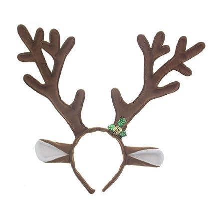 christmas deer reindeer antlers headband for easter halloween party accessories