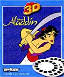 ViewMaster Disney's Aladdin - 3 Reels on Card - NEW by 3Dstereo ViewMaster