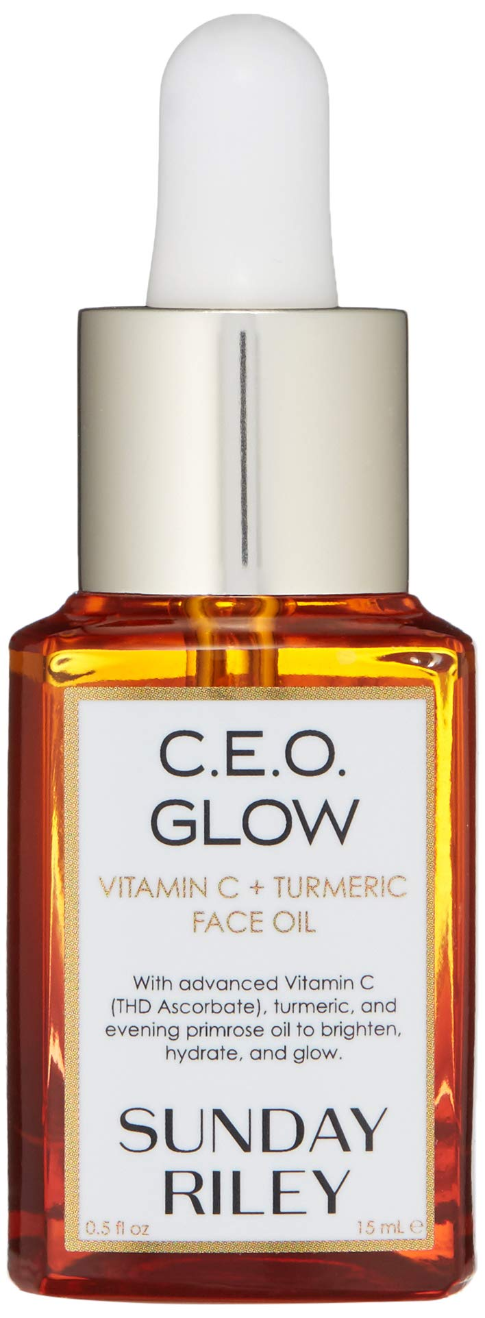 Sunday Riley C.E.O. Glow Vitamin C + Turmeric Face Oil, 0.5 fl. oz. by Sunday Riley