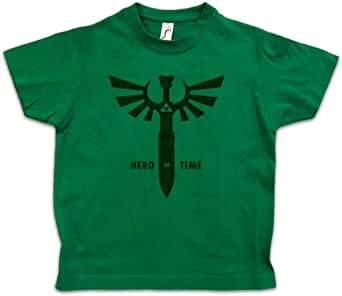 Urban Backwoods Hero of Time Niños Chicos Kids T-Shirt